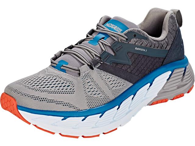 hoka one one gaviota 2 running shoes men grey at addnature. Black Bedroom Furniture Sets. Home Design Ideas